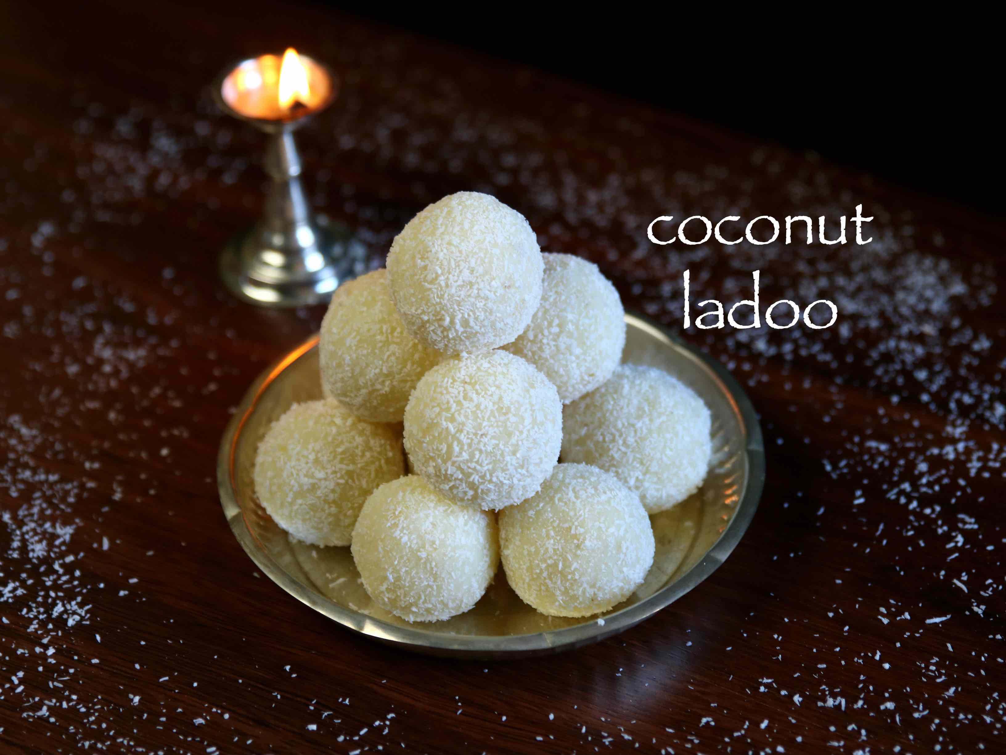 Coconut Ladoo Recipe Nariyal Ladoo Recipe Coconut