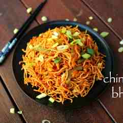 Kitchen Breakfast Bars Portable Cabinet Chinese Bhel Recipe | Crispy Noodle Salad How To Make ...