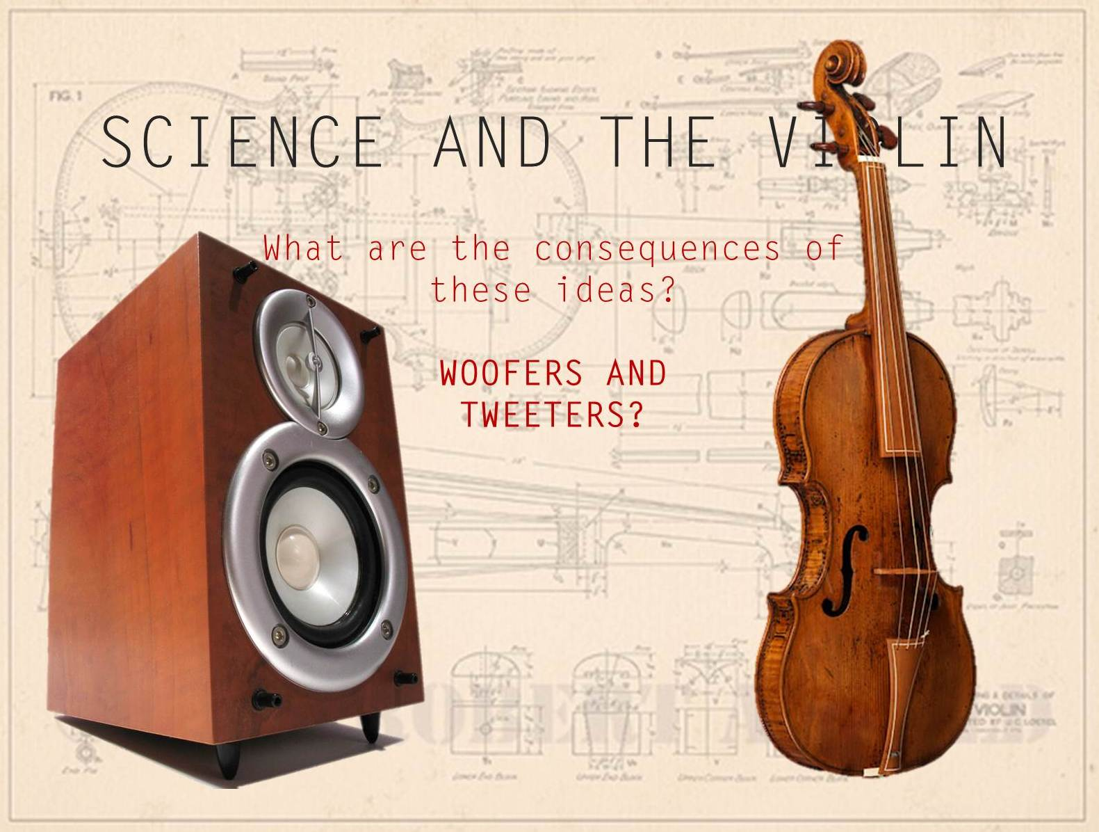 science and the violin