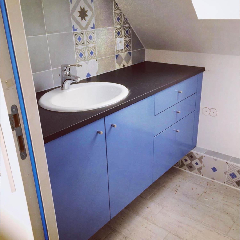 salle de bain sur mesure, contemporaine, meuble salle de bain, mobilier, meuble sous vasque, menuisier, agenceur, ébéniste, vannes, morbihan, aménagement intérieur, damgan, muzillac
