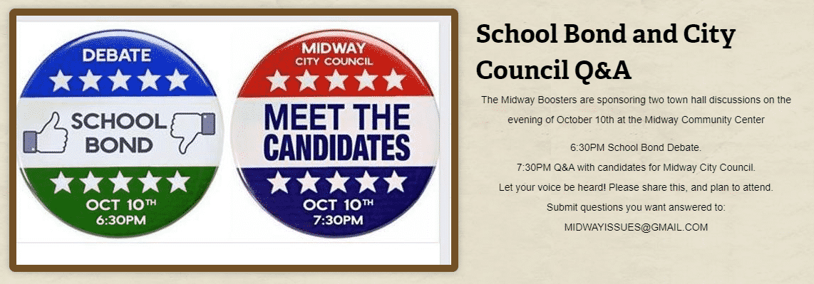School Bond and City Council Question & Answer