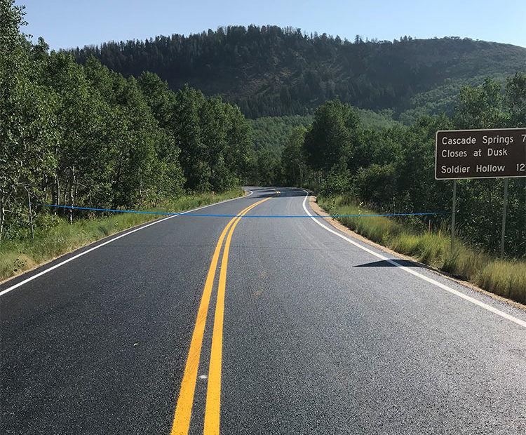 Cascade Springs Road Open