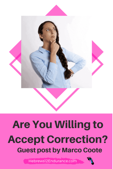 accept correction