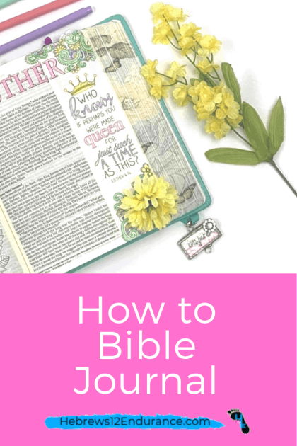 How to Bible journal