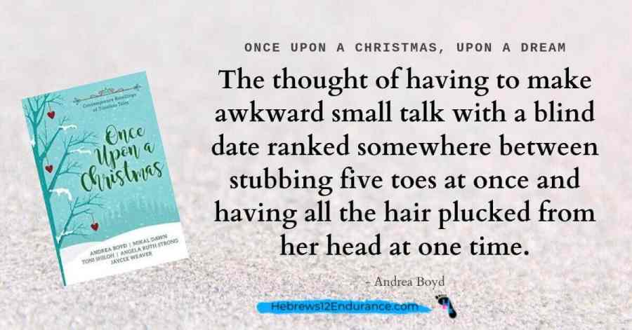 Quote from fairytale retelling Once-Upon A Christmas Book