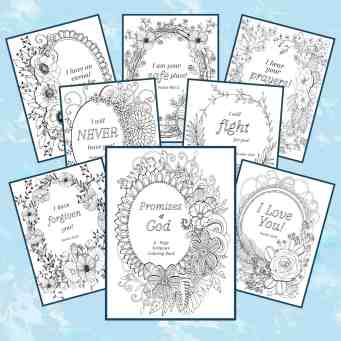 Promises of God Coloring Book