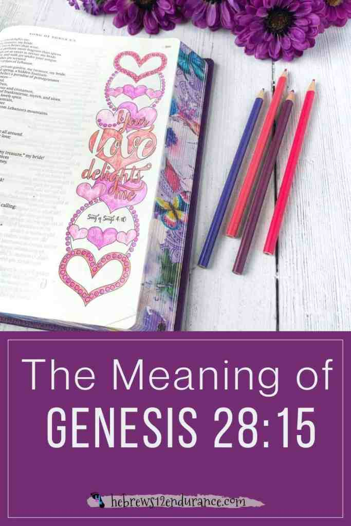 The Meaning of Genesis 28 15