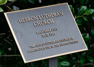 Hebron Lutheran Church in Madison, Virginia