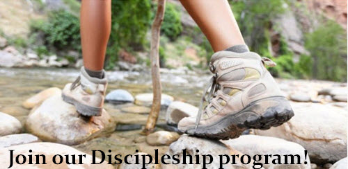 Join our discipleship program