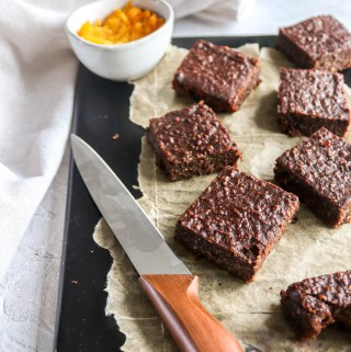Butternut squash and Date Brownies.