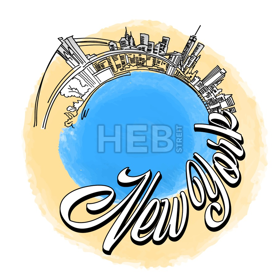 New York City travel Logo