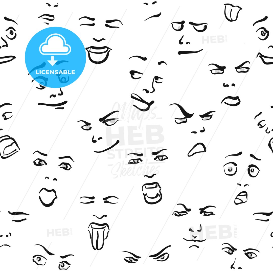 Seamless Set of Faces