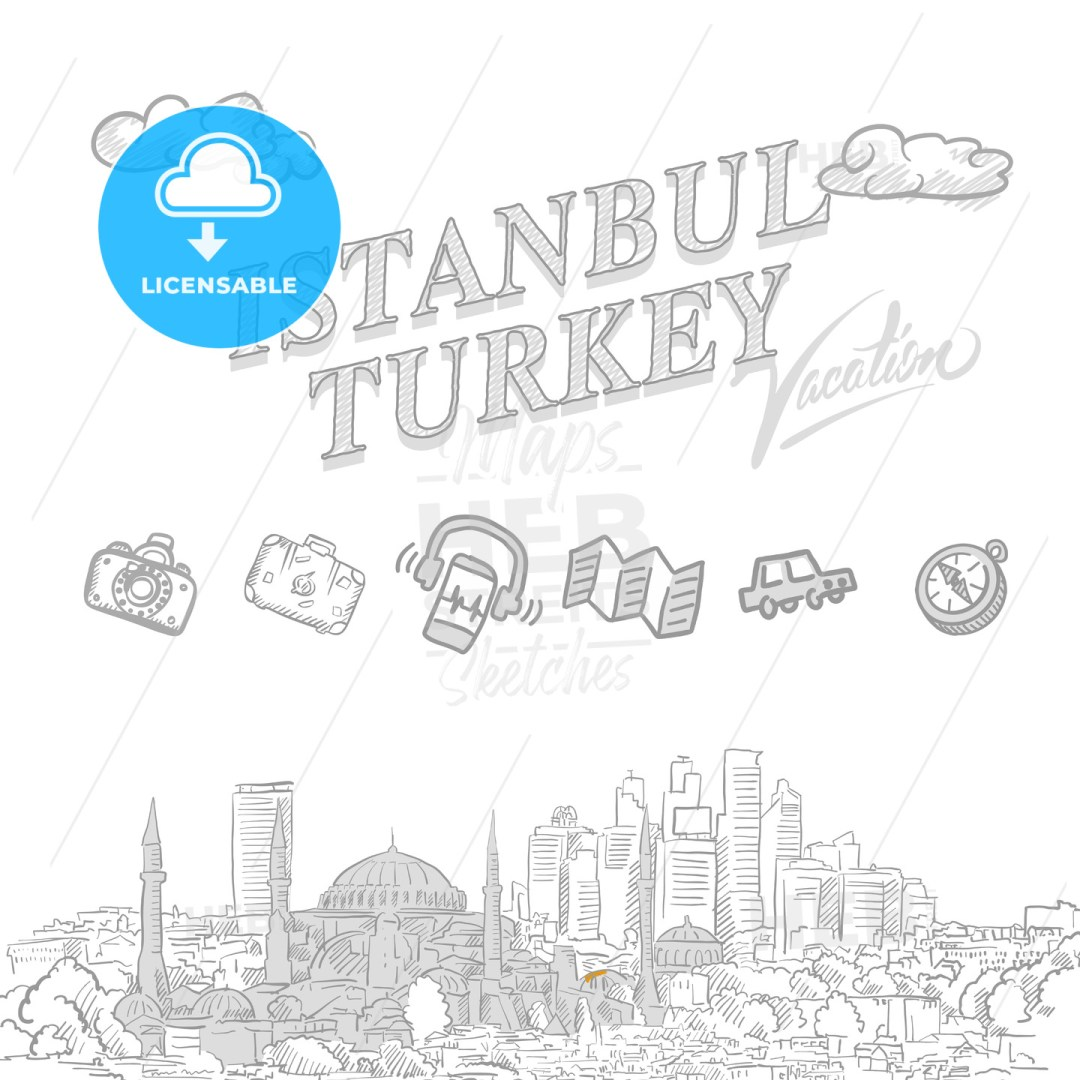 Istanbul travel marketing cover
