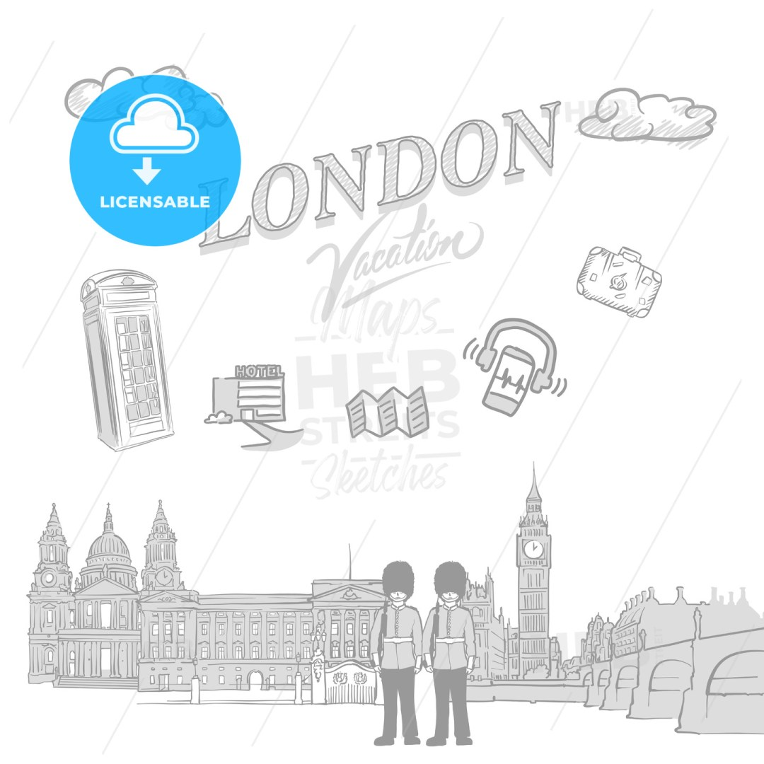 London travel marketing cover