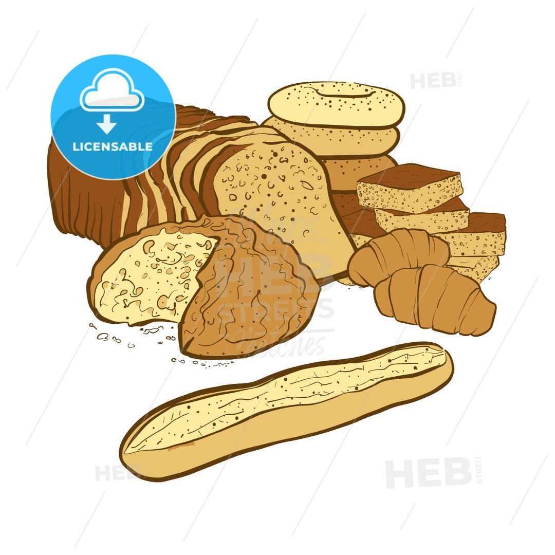 bakery products composition