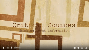 Critical thinking video: ELD