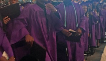 Graduation at Edna Karr High School, May 20.