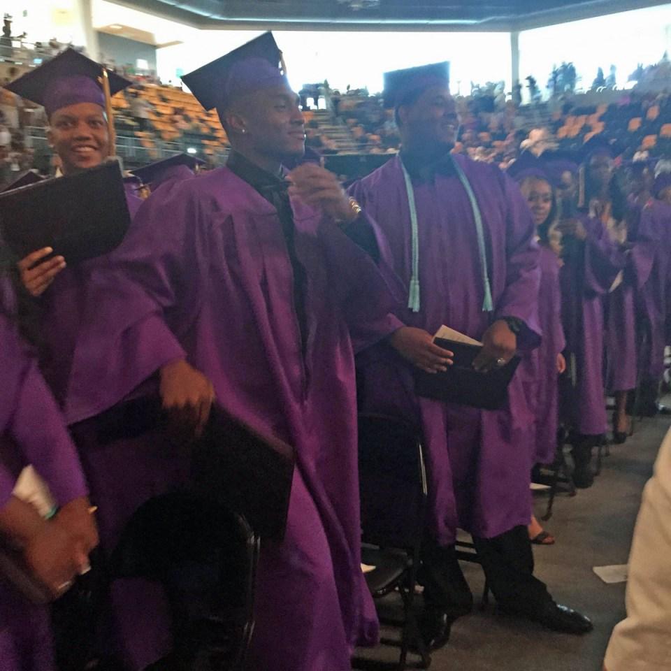 Graduation at Edna Karr High School, May 20.