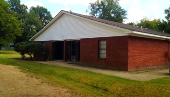 School district officials say a duplex built next to West Tallahatchie High School is not a recruitment tool they can use.