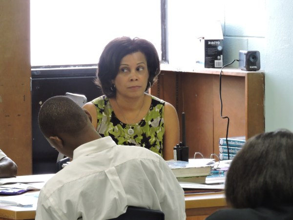 Black Charter School Principal