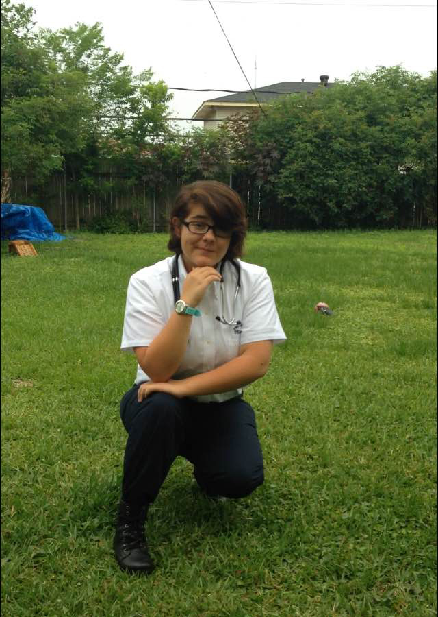 Delgado Community College student Zulema Meza, 18, has aged out of foster care.