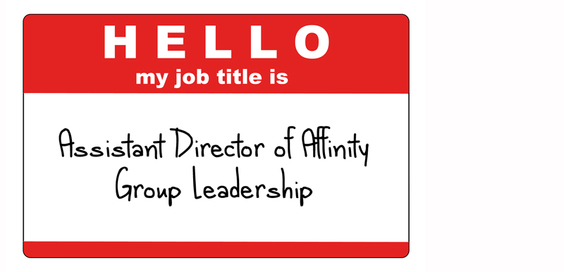 college administration job titles