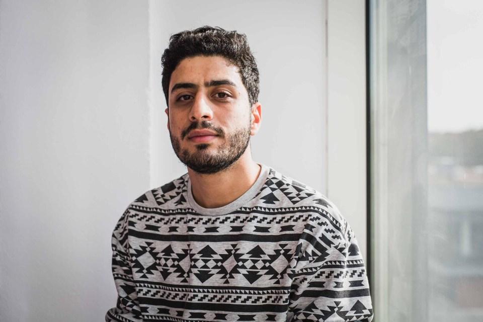 Ali Amer Taha Al-Hindawi, an Iraqi seeking political asylum in Germany, already has a chemistry degree but needs one from a western university.