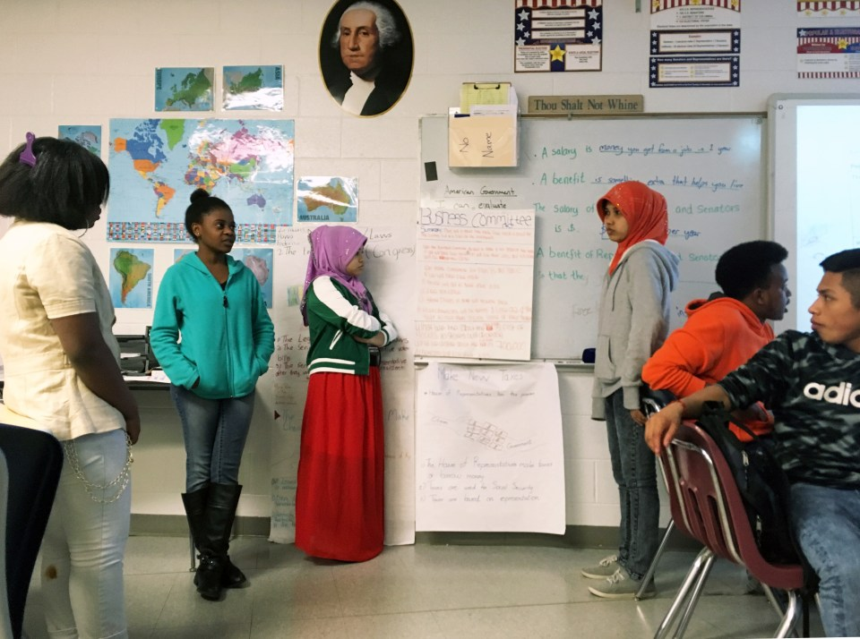 immigrants and education in the US