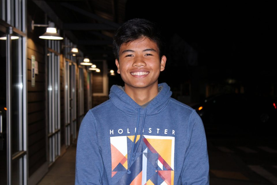Henry Thach, a 10th-grade student at Highline High School in Seattle.
