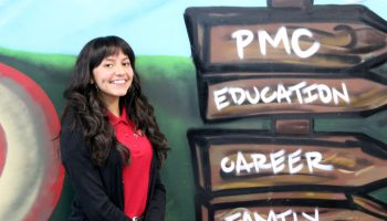 Lilianna Salcedo, a 10th-grader at USC Hybrid High School in Los Angeles.