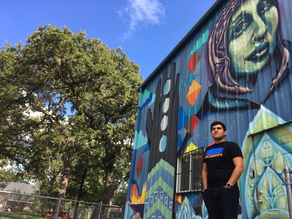 Juan Belman, age 24, 2017 graduate of University of Texas at Austin with bachelor's in anthropology.