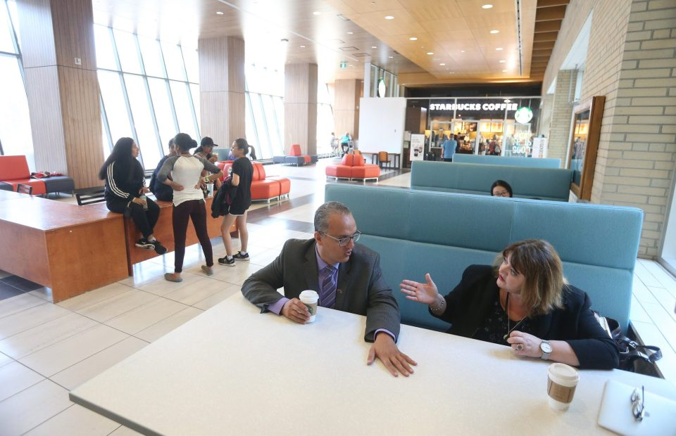 Accounting and financial management professor Emad Mohammad and linguistics and languages professor Anna Moro came together from their separate academic worlds to create a combined program in business and humanities at McMaster University near Toronto.