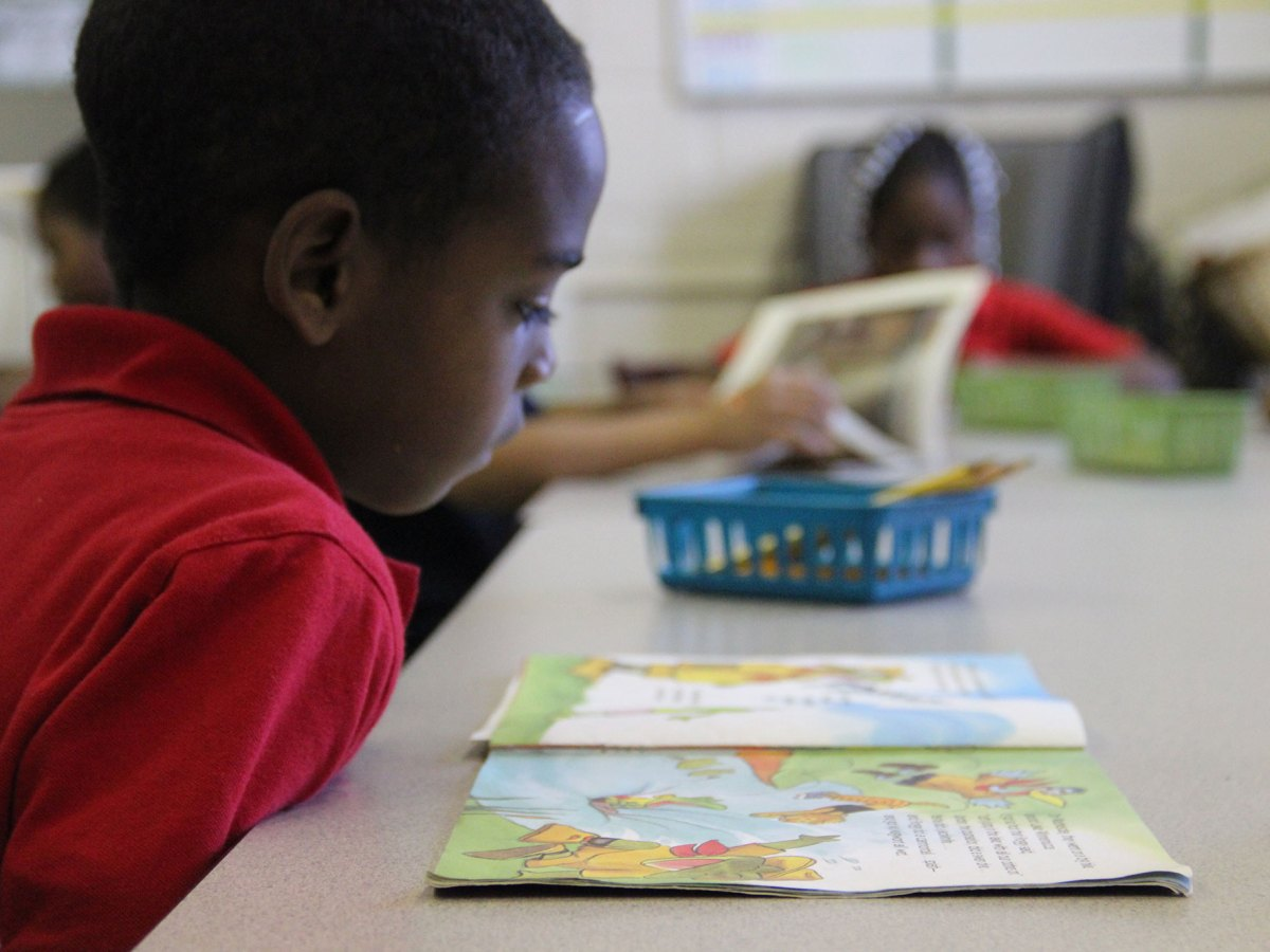 In this file photo, a student reads in a Mississippi elementary school.