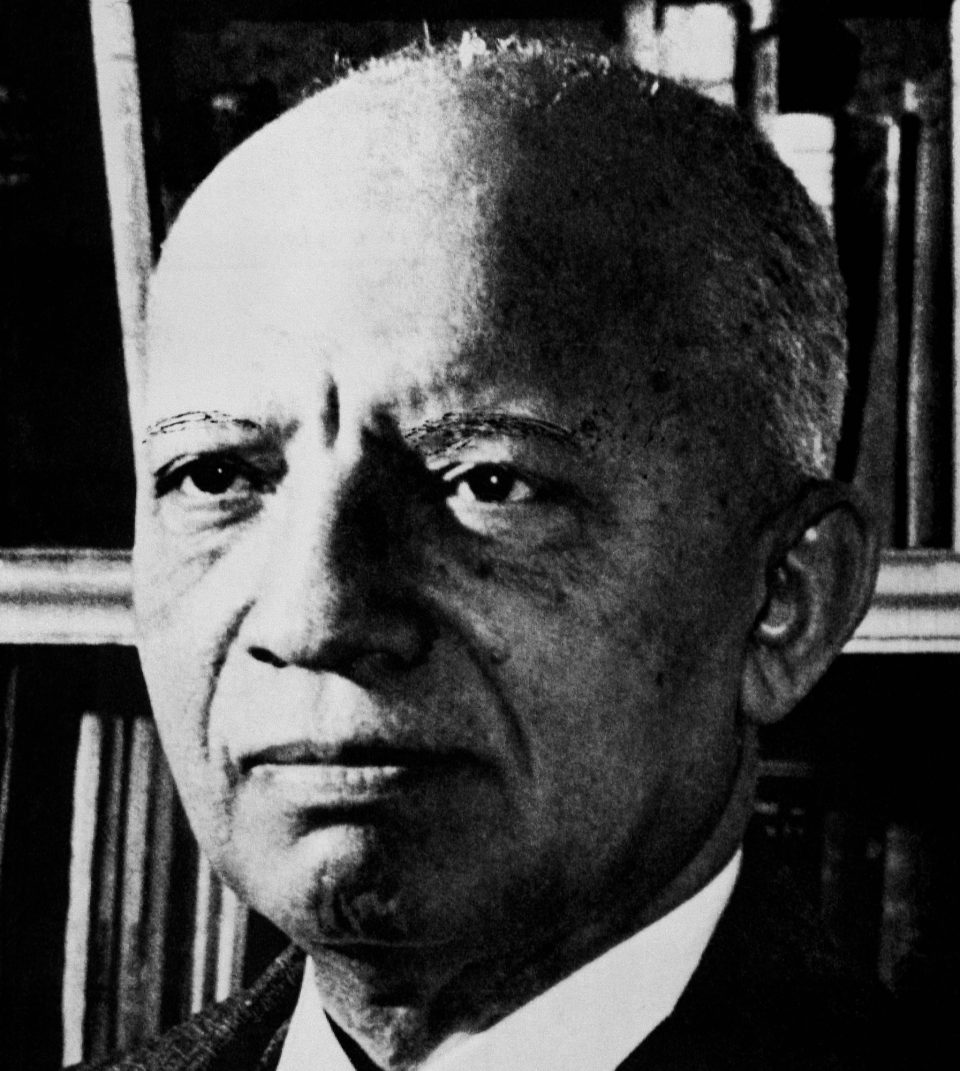Carter G. Woodson in an undated photograph. In 1926, he originated the celebration of Black History Week and is the author of 16 books about African Americans.