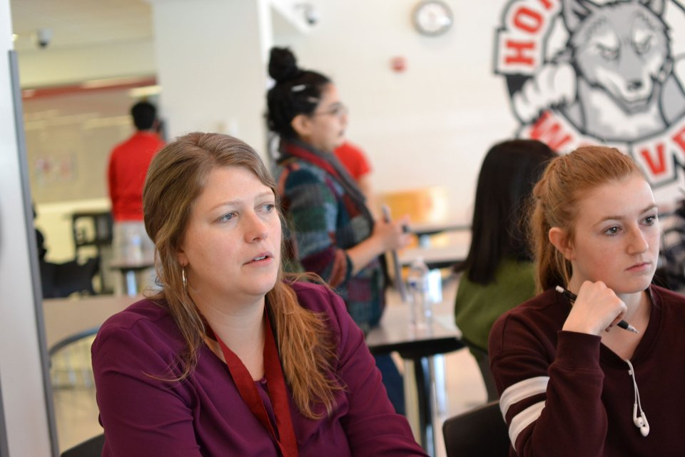 Jessica Cook, director of the DePaul University Labor Education Center, uses the collective bargaining simulations to encourage students to think about the future of work.