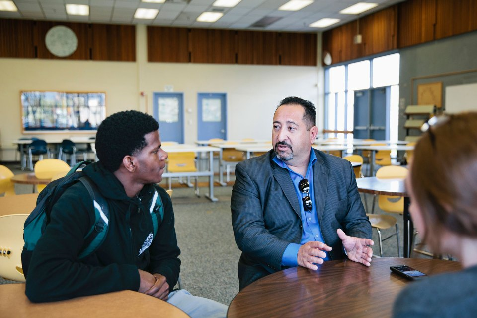 Patrick Sánchez, superintendent of California's Newark Unified School District.