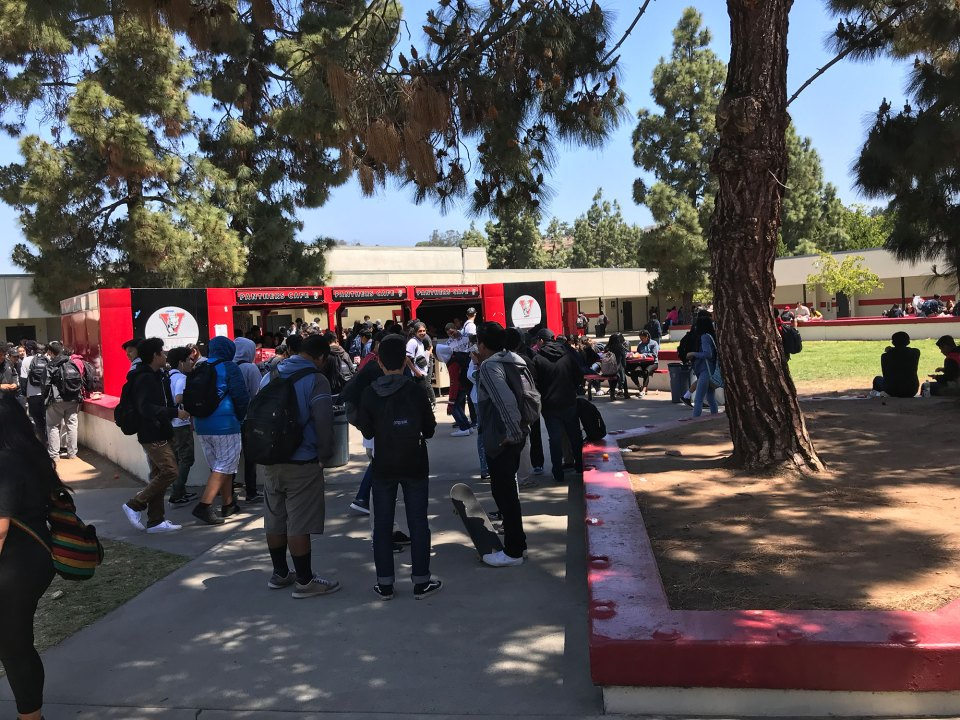 "Vista's large freshman class was broken down into ""houses"" as part of the transformation, creating closer relationships and more interdisciplinary learning."