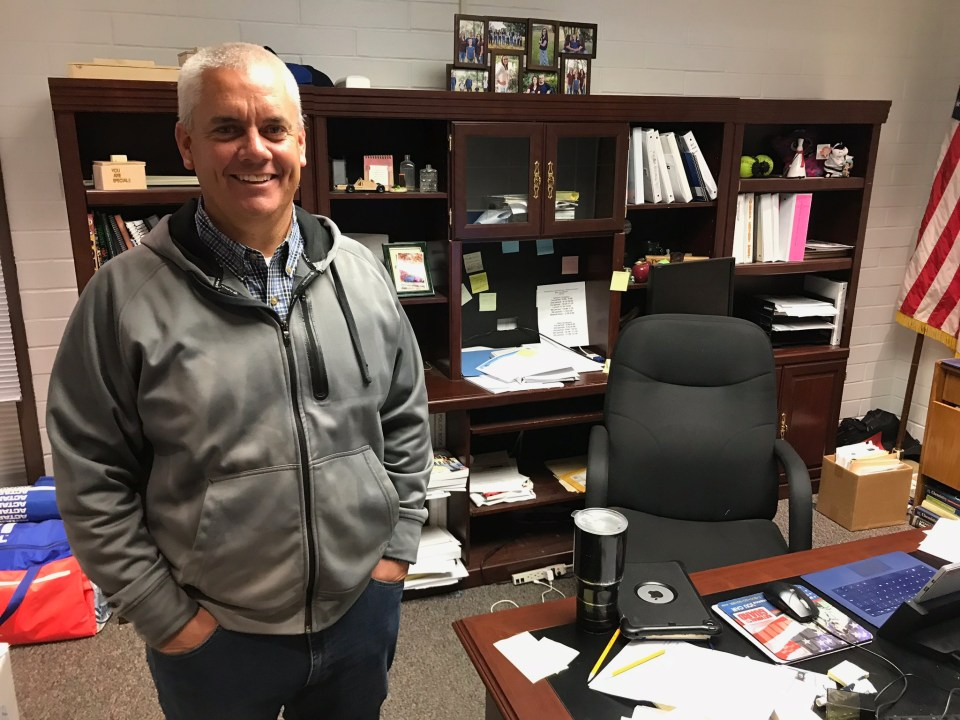 Russell Torgersen, the principal of Panguitch High School in Garfield County, Utah, says today's expectations for students to do research and homework online make it difficult for those who have poor internet service at home.