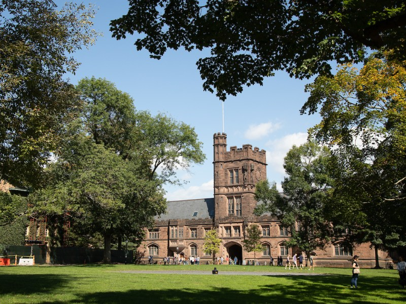 Princeton University, the site of this year's Ivy League Veterans Council meeting, has 12 undergraduate military veterans, up from one just two years ago.
