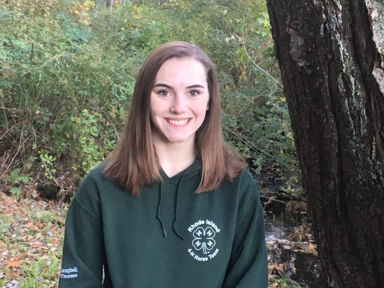 Emma Campbell, 17, a senior at Coventry High School, interned at Amgen last summer via PrepareRI, a statewide workforce prep program for Rhode Island students.