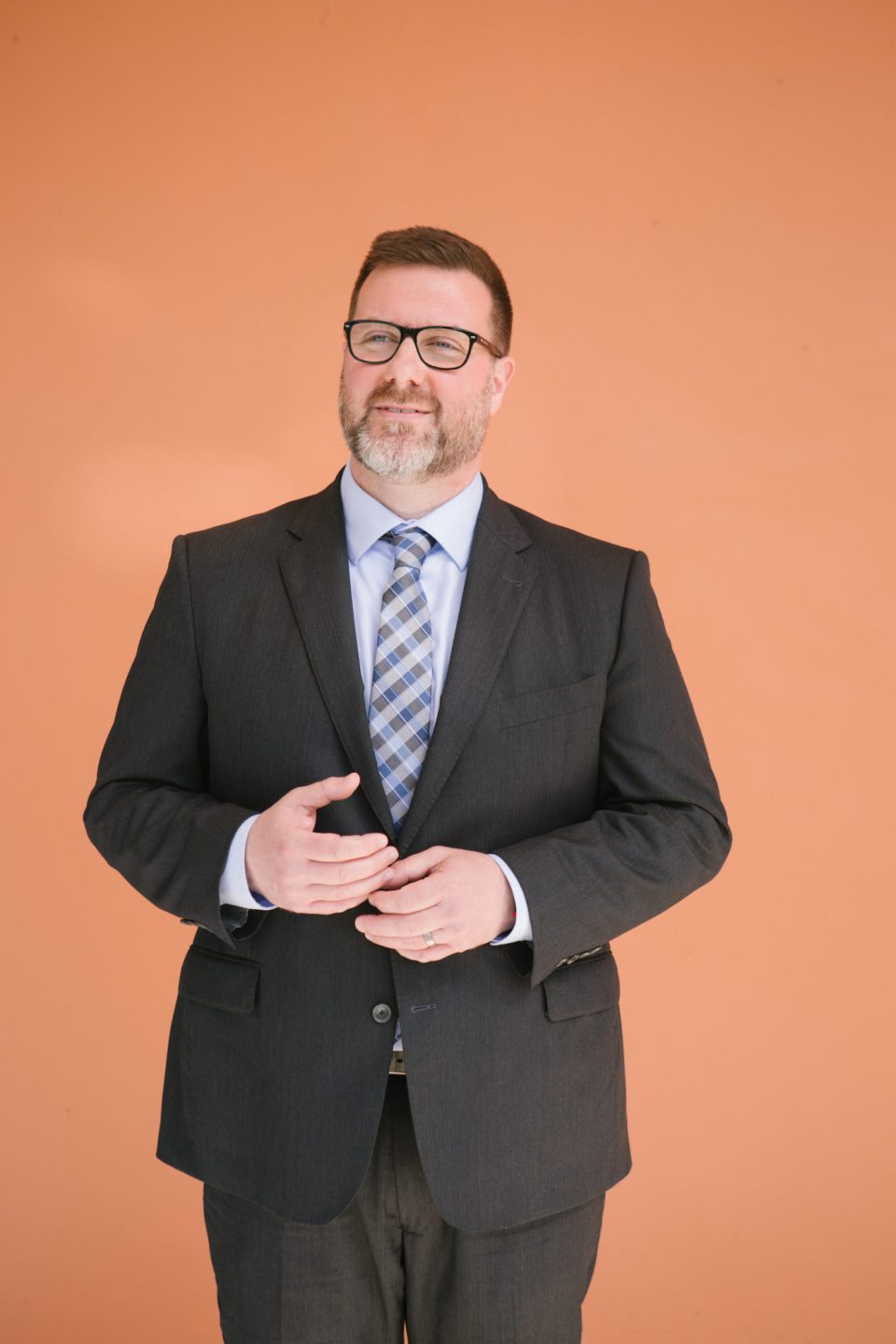 """St. Thomas University Provost Jeremy Moreland. In graduate programs at other schools, says Moreland, """"Students feel like a number. People get lost."""""""