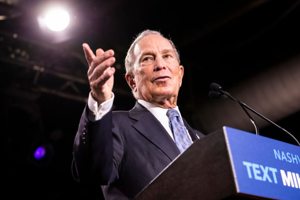Michael Bloomberg education