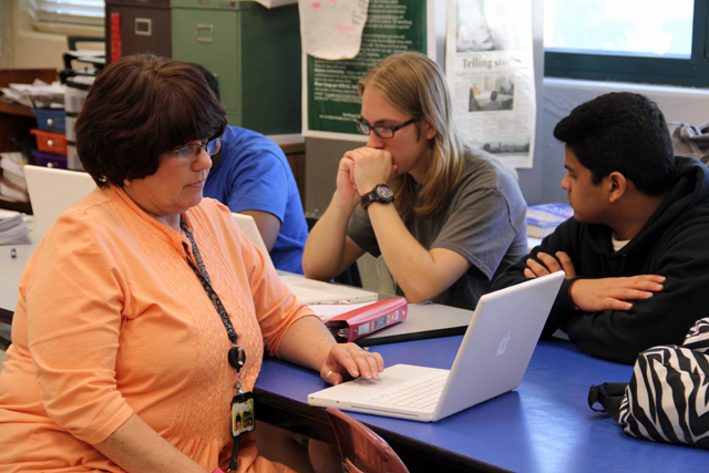 Vickie Malone, who teaches McComb High School's civil rights elective course, said students often know little about the civil rights era in Mississippi when they enter her class as seniors. (Photo: Jackie Mader)