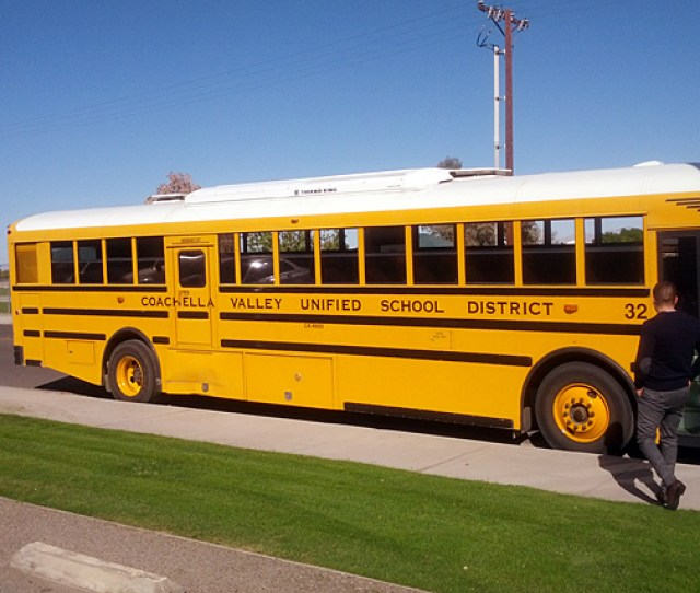 So Far Two Buses In The Coachella Valley Unified School District Have Wi Fi