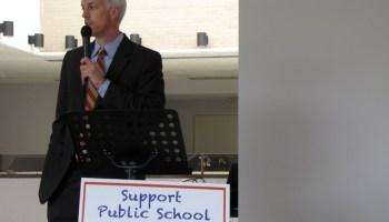 Sen. David Blount (D - Jackson) discusses education funding.