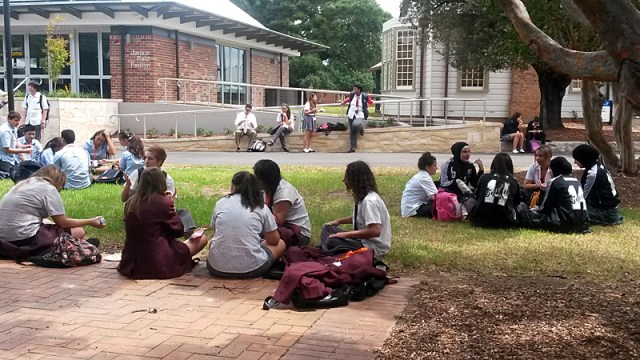 Australian college graduation rate
