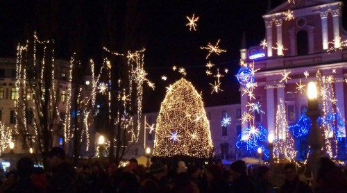 Image result for christmas spirit ljubljana