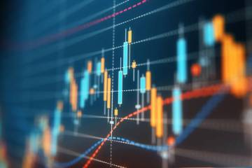 Financial and Technical Data Analysis Graph A financial data analysis graph. Selective focus. Horizontal composition with copy space. finance stock pictures, royalty-free photos & images