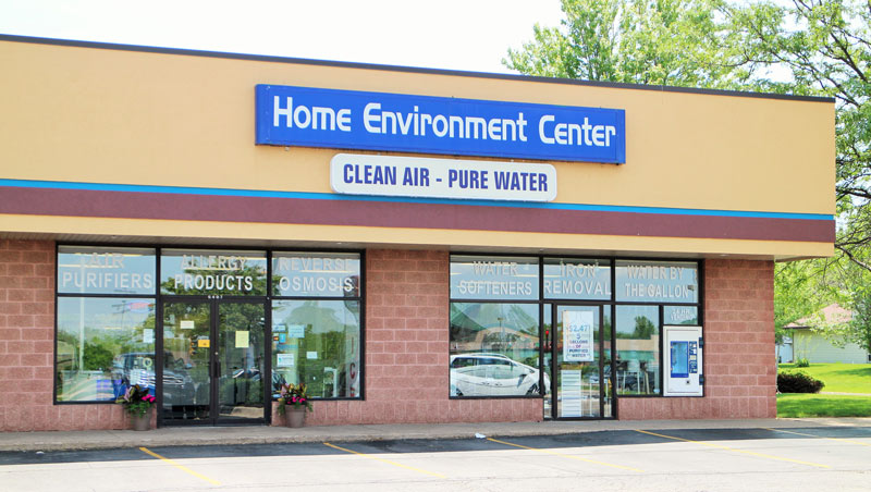 Home Environment Center Rockford, Bottled Drinking Water Supplier