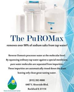 Looking for better drinking water? PuRO Max reverse osmosis drinkinghellip